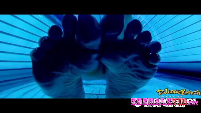 Officialjamiefrench-Manyvids-Tanning Bed