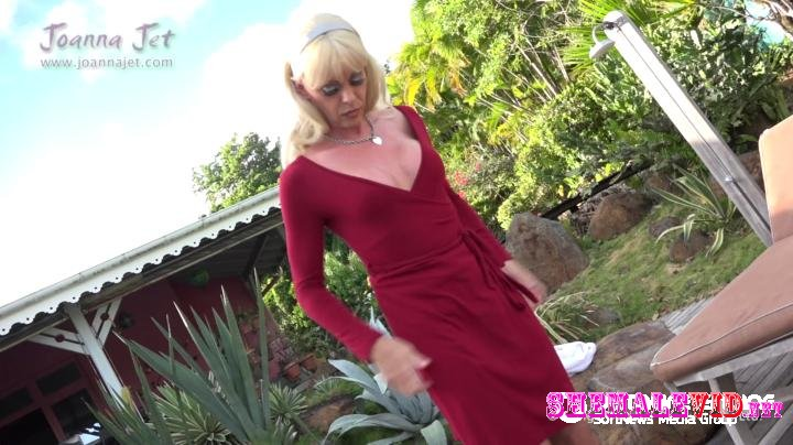 Joanna Jet-Manyvids-Tranny MILF Loves Stockings and Heels