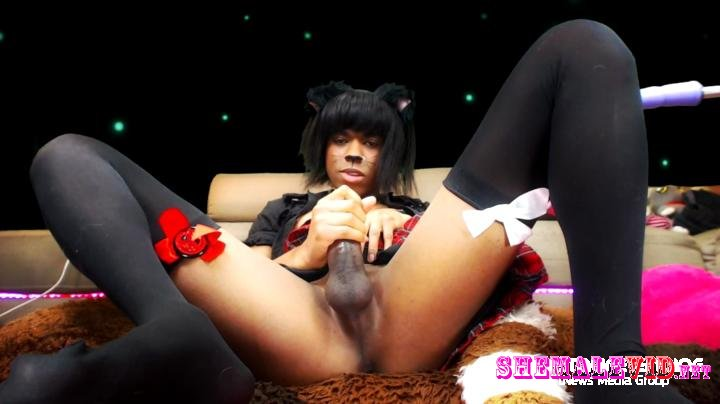 Crona Cookie-Manyvids-Ahegao masturbation short