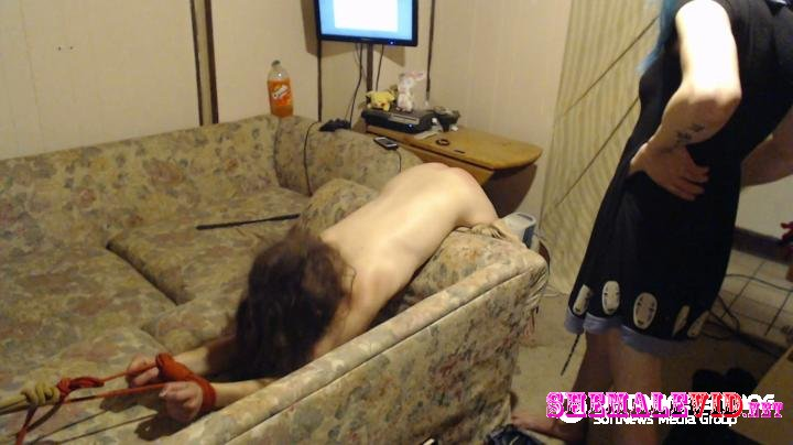 MystiMew420-Manyvids-Kittens first spanking video
