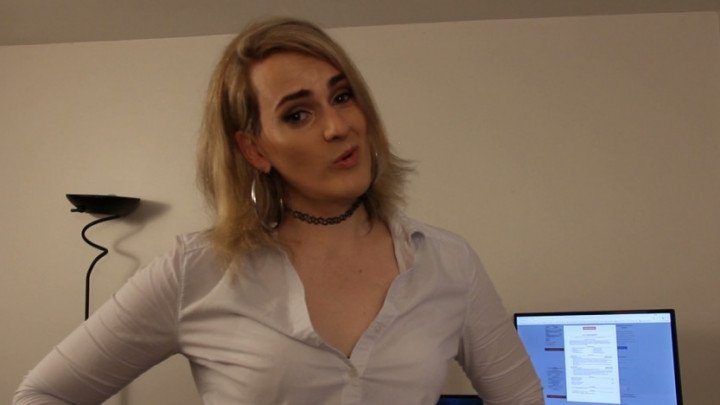 NikaJamesTS-Manyvids-Princess Nika Gets You Fired-Humiliation, Authority Figures, Role Play