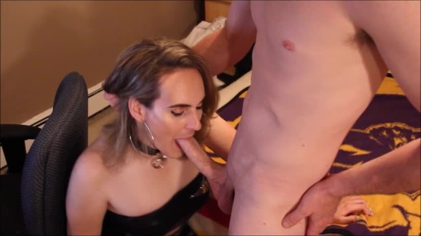 NikaJamesTS-Manyvids-Nika James Blow Job July 5th Show-Blowjob, Trans, Transgender