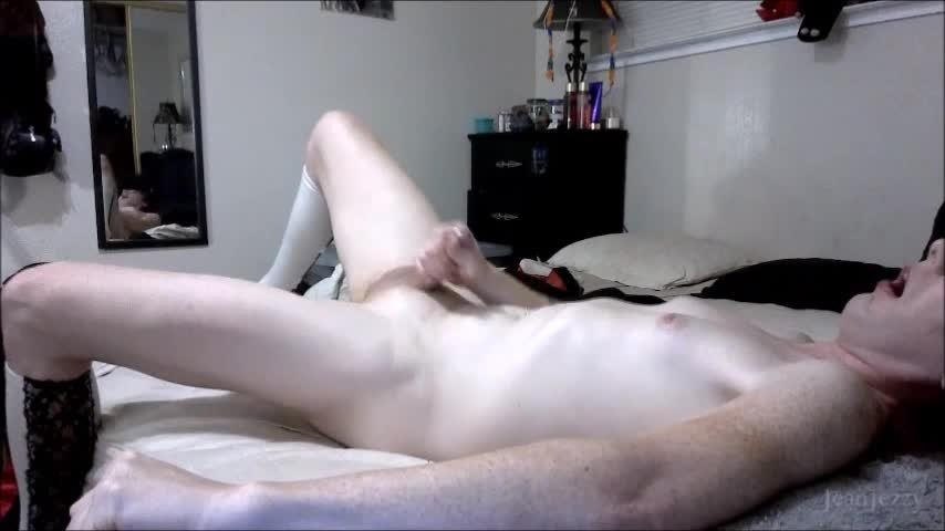 JeanJezebel-Manyvids-Silent but Cummy-Anal Play, Dildo Fucking, Transgender