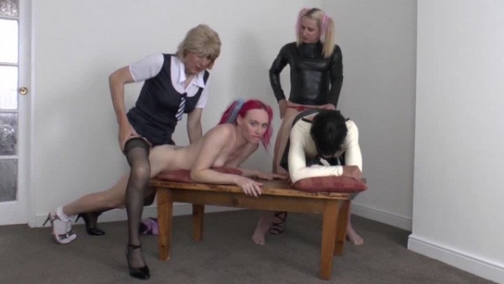 Katie Fox-Manyvids-TS BREEDING CEREMONY-Anal, Group Sex, School Girl