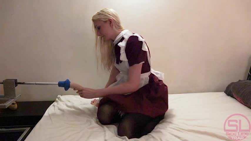 SexiLexiTrap-Manyvids-Maid Job Interview-Fuck Machine, Maid Fetish, Trans