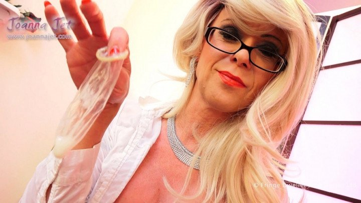 Joanna Jet-Manyvids-Hot Tranny Cream to Take Out-Blonde, Cum Eating Instruction, Cumshots
