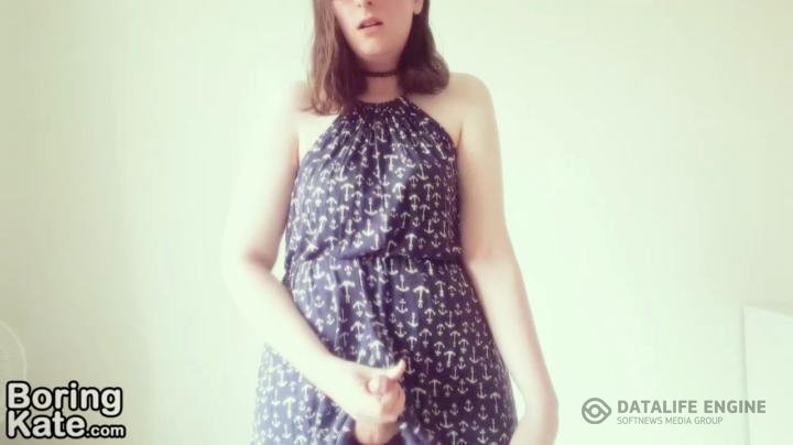 BoringKate-manyvids-Getting-Off-in-a-Dress