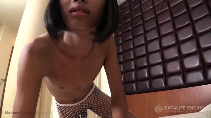 Ladyboygold-Bareback Love and Pushed in Creampie