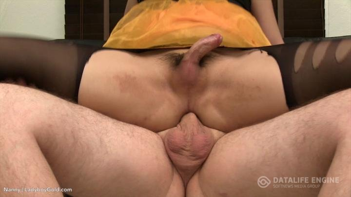Ladyboygold-Orange Tutu Bareback