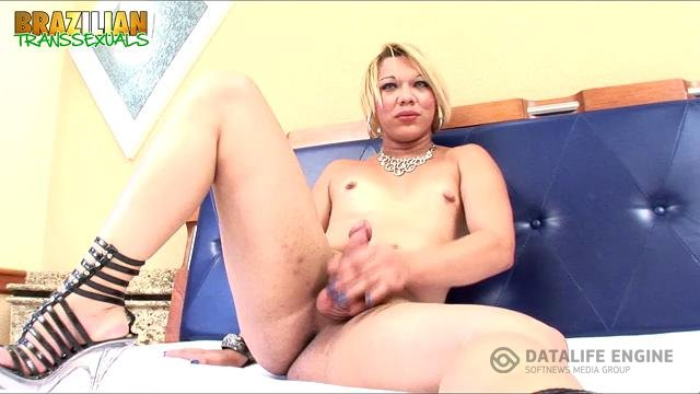 Brazilian-Transsexuals-Hot Cum Shot From Kamila Oliver