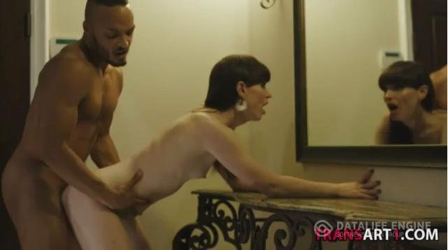 Transsensual-Natural shemale Natalie Mars loves him