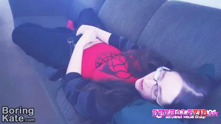 BoringKate-Manyvids-A Tenga egg and a big comfy couch