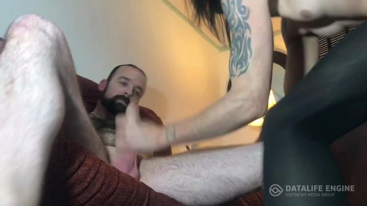 KayGeeGee-Manyvids-Straight Guy fucks TS slut Hard big CUM